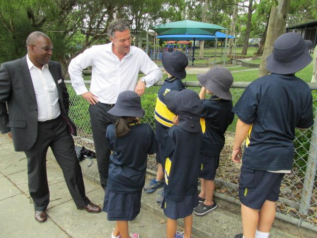 Announcing a $104,000 Outdoor Learning Centre for Ashmore State School
