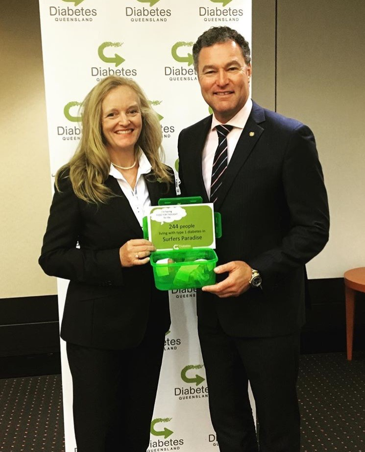 Chatting with Diabetes Queensland CEO, Michelle Trute