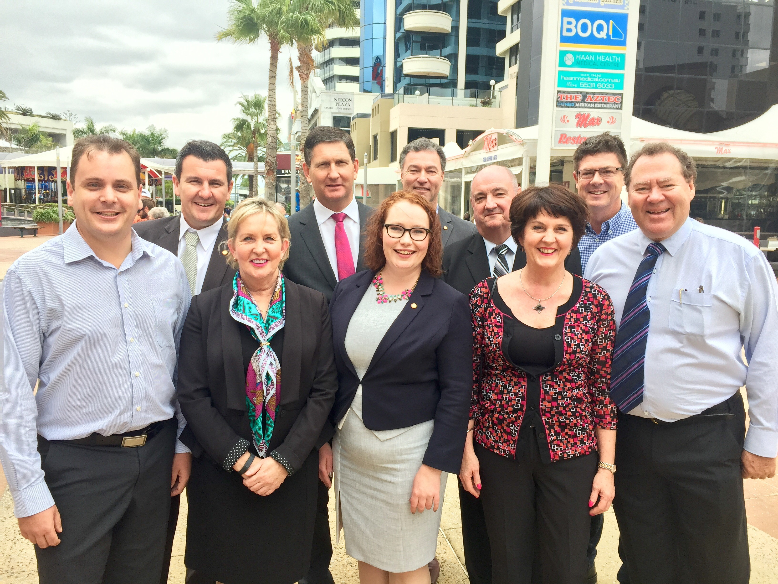Gold Coast MPs uniting against Labor's rolling out the welcome mat to criminal gangs