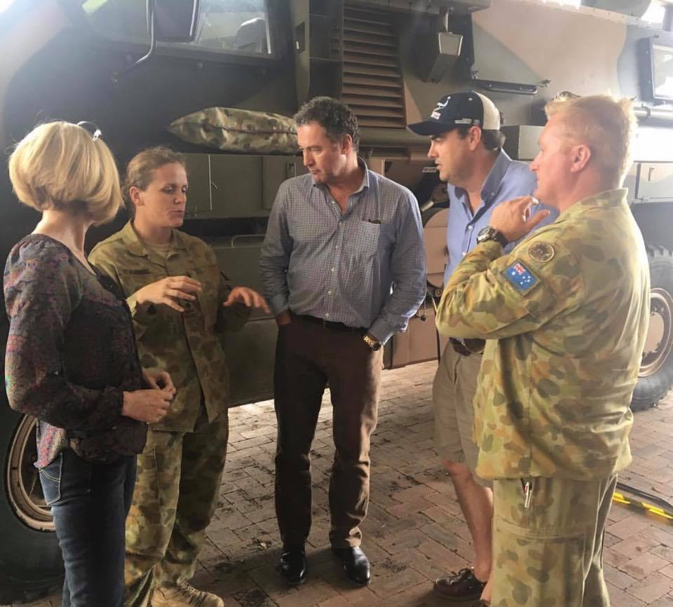 Visit to Proserpine post-Cyclone Debbie